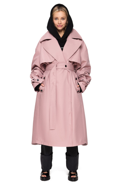 TRENCH COAT PUDRA